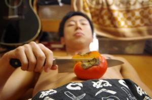 糖質制限における、生柿のカロリー・糖質